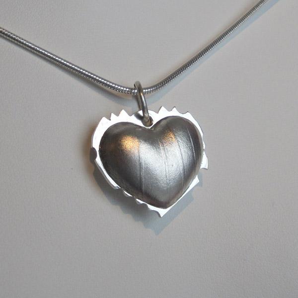 Heart Pendant - Silver: $175